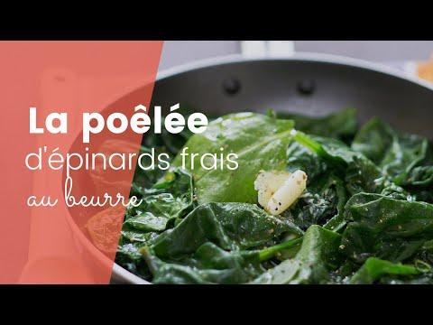 la-recette-de-la-poêlée-d'épinards-frais-au-beurre