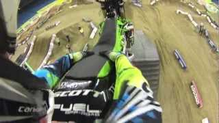Toronto Monster Energy SUPERCROSS Pit Party FMX Show from my GoPro