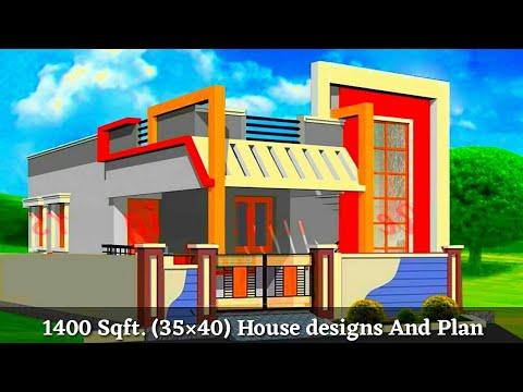 35×40 house plan || 35*40 घर का नक्शा || Front