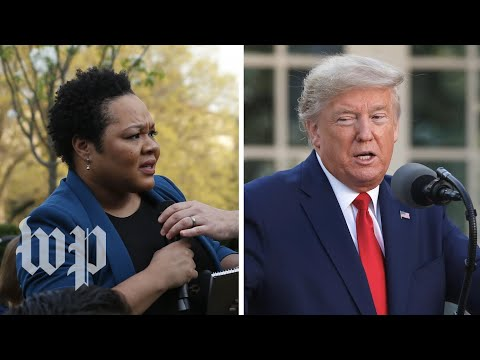 Trump's clashes with PBS NewsHour reporter Yamiche Alcindor