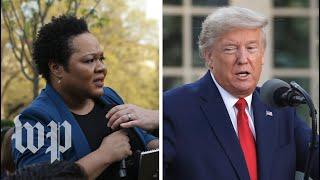 Trump's clashes with PBS NewsHour reporter Yamiche Alcindor