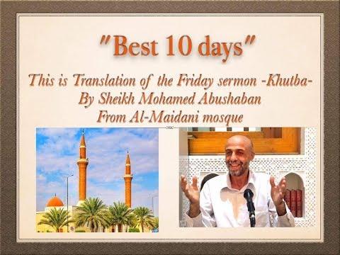 Best 10 days