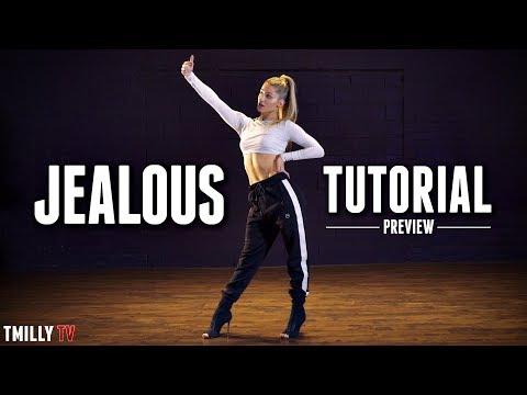 Delaney Glazer - Kehlani - JEALOUS - Dance TUTORIAL [Preview]