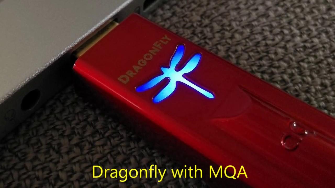 การอัปเดทเฟิร์มแวร์ของ AudioQuest Dragonfly RED