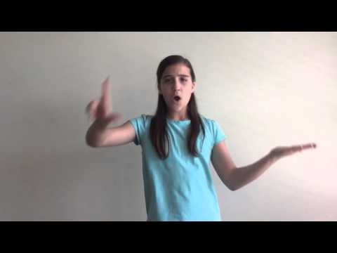 Your Great Name by Natalie Grant in ASL