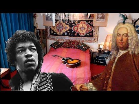 #763 Inside the LONDON homes of JIMI HENDRIX and HANDEL! - Jordan The Lion Travel Vlog (9/8/18)