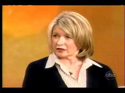 Martha Stewart on the View part one