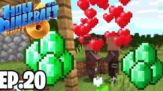 GETTING INFINITE EMERALDS!! |H6M| Ep.20 How To Minecraft Season 6 (SMP)
