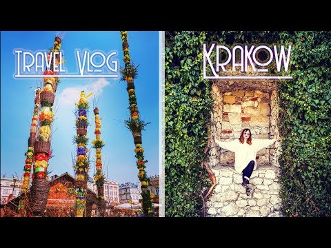 KRAKOW Vlog! Day 4! Wawel castle, Flower market, Yummy Cake!   Alanna Campbell