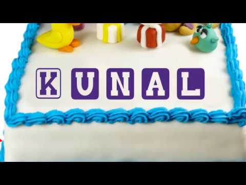 Happy Birthday Kunal