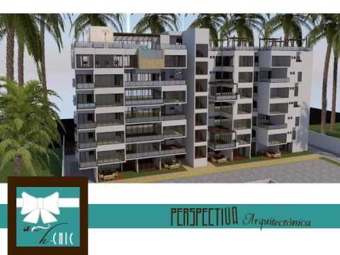 Planos edificio de departamentos csa 008 d youtube for Edificio de departamentos planos