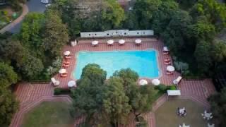 Swimming pool at The Taj Mahal Hotel, New Delhi