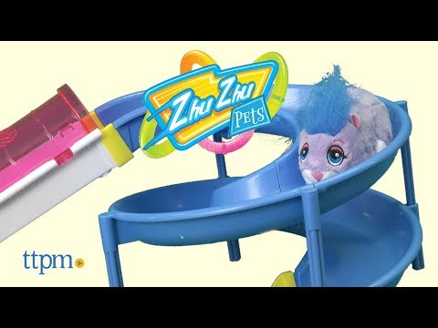 Zhu Zhu Pets Hamster House Playset and Hamster Wheel from Spin Master