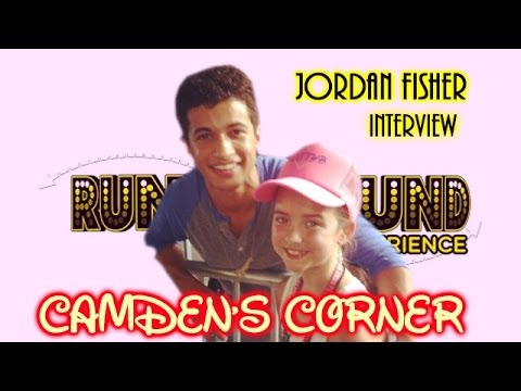 Jordan Fisher Interview (Camden's Corner Webshow)