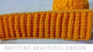 Beautiful braid knitting design for winter sweaters