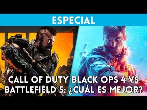 CALL of DUTY BLACK OPS 4 vs BATTLEFIELD 5: ¿Cuál es mejor? COMPARATIVA con GAMEPLAY thumbnail