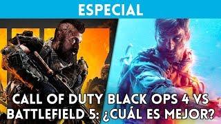 CALL of DUTY BLACK OPS 4 vs BATTLEFIELD 5: ¿Cuál es mejor? COMPARATIVA con GAMEPLAY