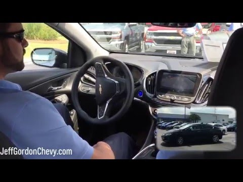 2017 Chevrolet Volt Hybrid Premiere: Assisted Self Parking Demo |  Jeff Gordon Chevy  Wilmington, NC