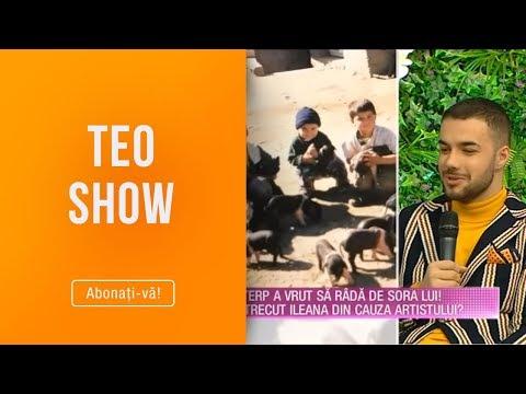 Teo Show (06.02.)-Culita Sterp si sora lui, Ileana au crescut la ferma si au avut grija de animale!