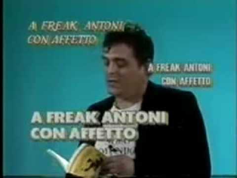 Freak Antoni - Non c'è gusto in Italia ad essere intelligenti (Skiantos)