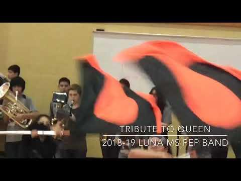 2018-19 Luna Middle School Pep Band