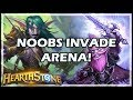 NOOBS INVADE ARENA! - Boomsday / Hearthstone