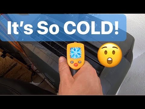 Garage Portable Air Conditioner DIY Install - No Window?!  EASY Venting Idea