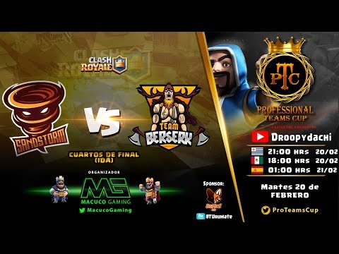 SandStorm LA vs Team Berserk | Cuartos de Final | PTC C