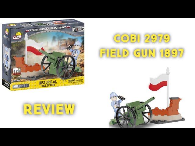 Cobi 2979 - 75 mm Field Gun 1897 / Review [German]