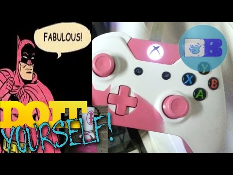 How to paint Xbox One Controller (A Drumblanket DIY Project)