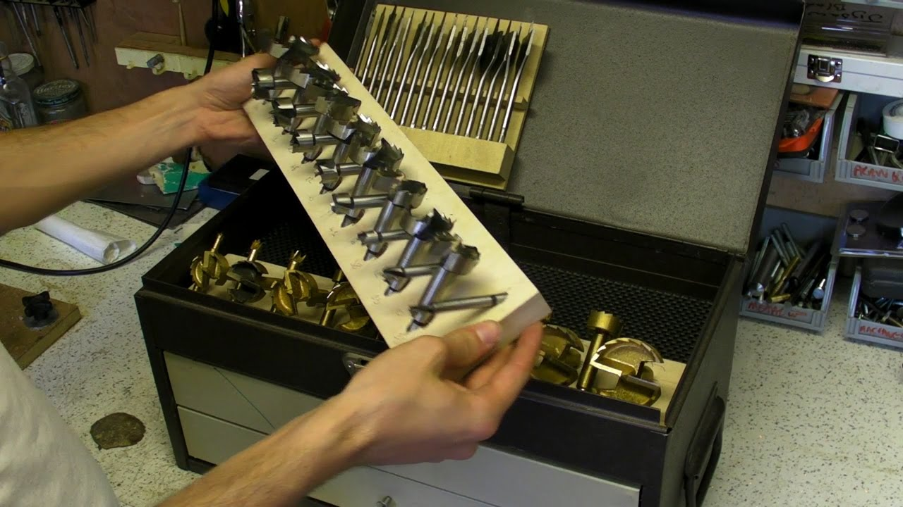 Fitting Bits Into Tool Chest Router Flat And Forstner
