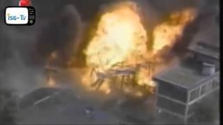 Güney kore benzin istasyonunda büyük patlama