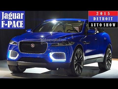 Jaguar C X17 F Pace 2015 Detroit Auto Show Live Photos