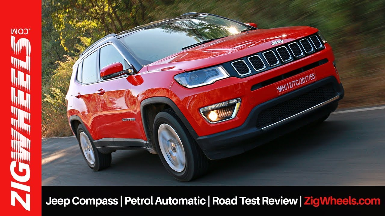 Jeep Compass Petrol Automatic Road Test Review Zigwheels Com