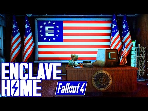 Fallout 4 - ATLAS SUMMIT - EPIC ENCLAVE PLAYER HOME - Xbox & PC Mod!