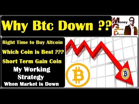Why Bitcoin Down with Strong Reason ll Short term Gain Altcoin