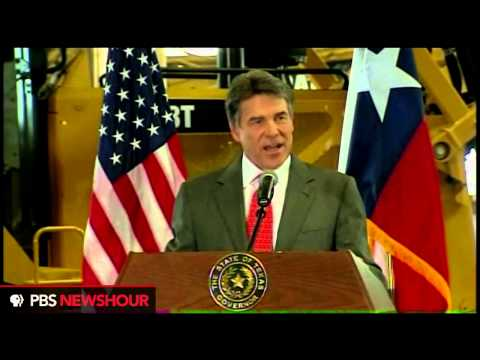 Watch Texas Governor Rick Perry Announce He Won't Run For Reelection