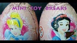 Disney Princess Zaini Egg Break X2 (Like Kinder Surprise)