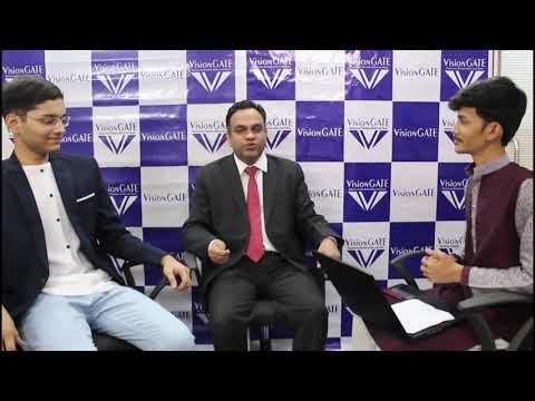 GATE 2021 Topper   Jaydeep Pawar (CS, AIR 1)   VisionGATE Student   Topper's Talk with Prof. RSV