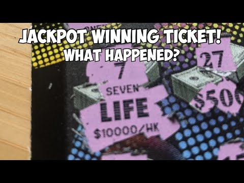 Jackpot Winning Ticket! | What Happened?
