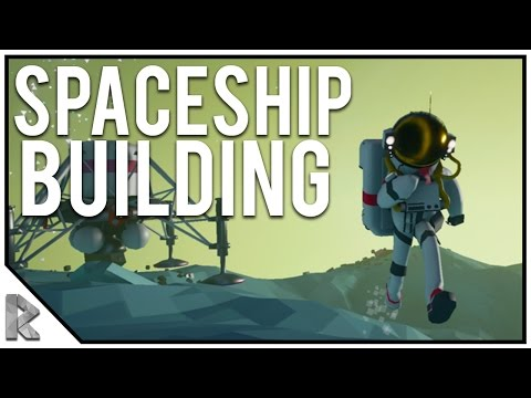Building the REAL Spaceship! - Astroneer #8 (Astroneer Alpha Gameplay)