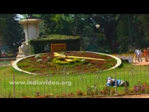 Flower clock of Lal Bagh Botanical Garden, Bangalore