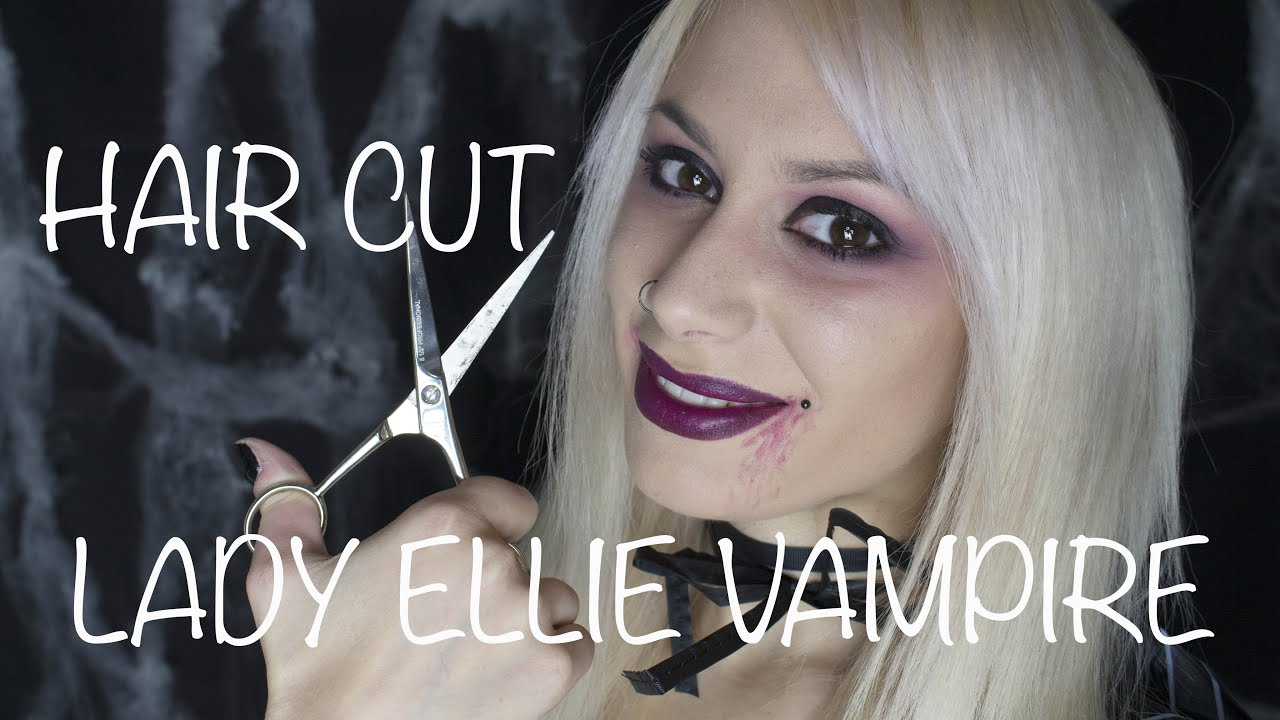 Asmr Haircut Roleplay Lady Ellie Vampire Whisper Youtube