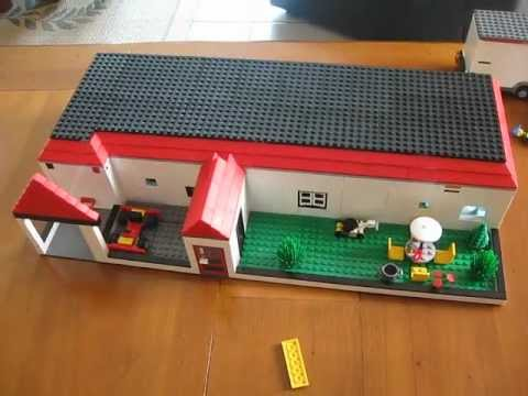 Grande maison en lego avec design youtube - Comment faire une ville lego city ...
