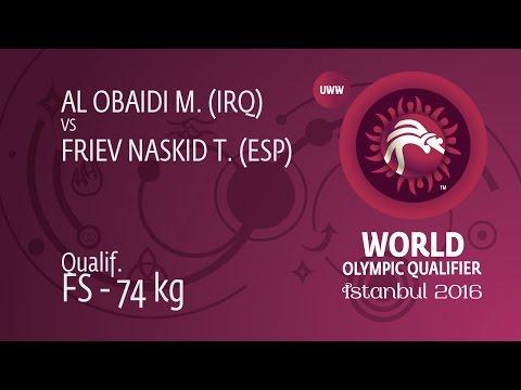 Qual. FS - 74 kg: T. FRIEV NASKID (ESP)...