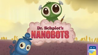 Dr. Schplot's Nanobots: Puzzle - iOS / Android Gameplay Walkthrough Part 1 (by Middle City Games)