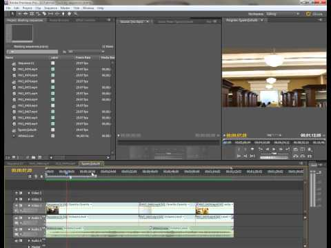 Premiere Pro CS5: A Quick Explanation of the Work Area Bar