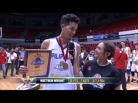 Luzon All-Star vs. Gilas Pilipinas MVP: Matthew Wright | PBA All-Star 2017