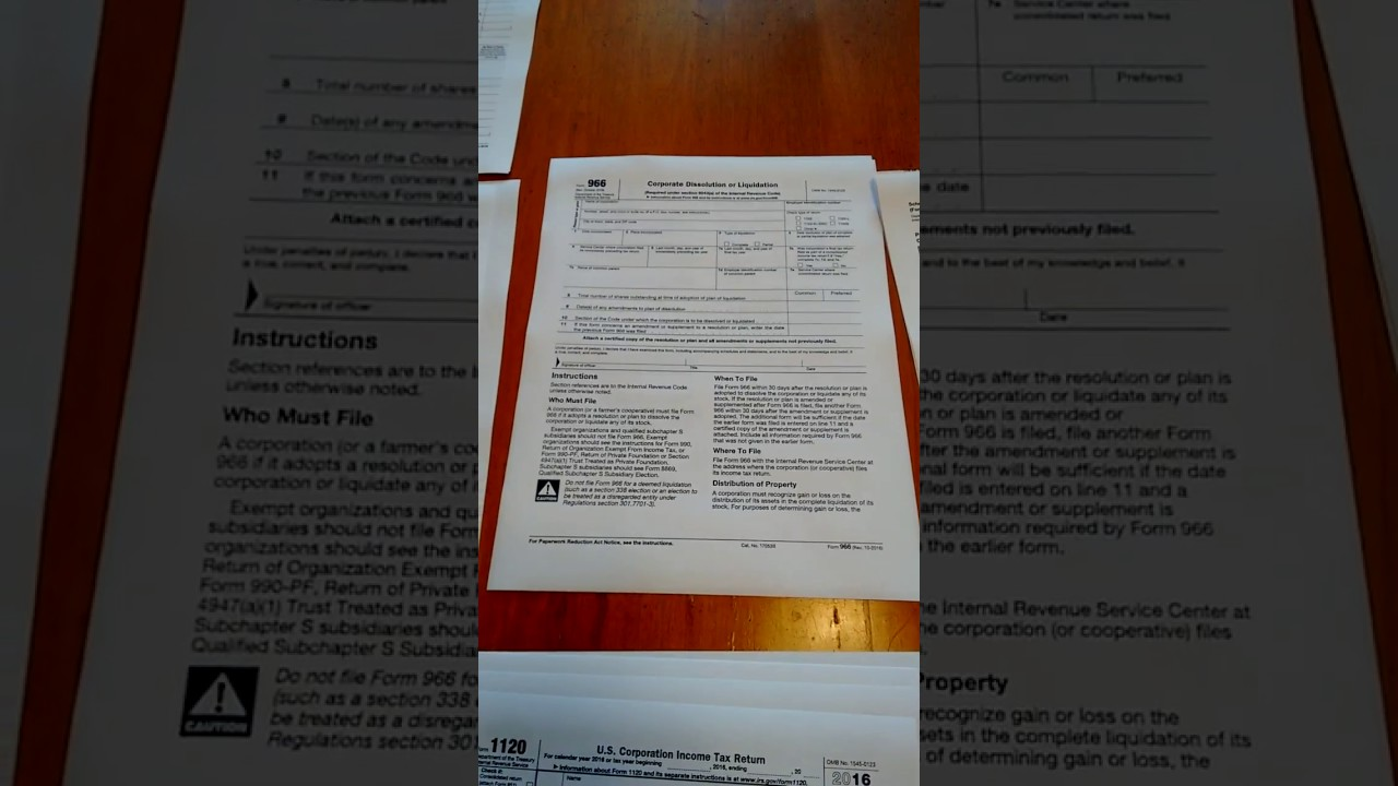 Irs Form For A Florida Lllp With A C Corporation As Its General