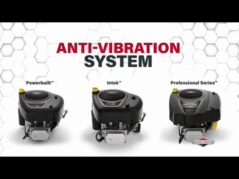 Anti-Vibration System - Innovation By Briggs & Stratton